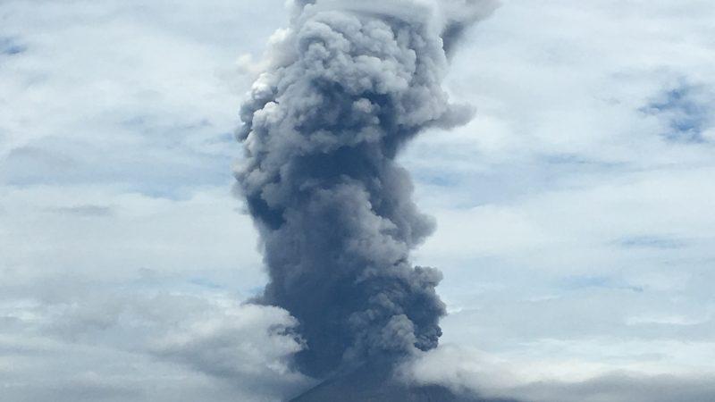 桜島、今年128回目の爆発!